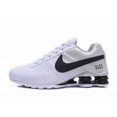info for 1f6b1 e17ee Hommes Chaussure Nike Shox Deliver Blanc Noir  NikeShox