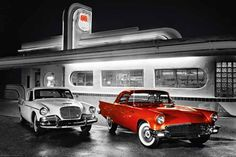 Love the old diners...