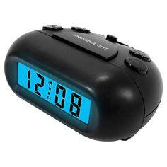 Black LCD Alarm Clock : Target
