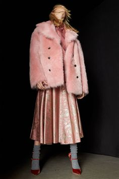 Rochas Pink is in. I'll make do with a cardigan sweater.