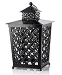 I love the Square Modern Lantern Shade.  Use it with soy wax sprinkles in a frosted liner to warm up any outdoor space with with a fresh scent.