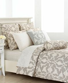 Barbara Barry Bedding, Poetical King Comforter Set - Bedding Collections - Bed & Bath - Macy's