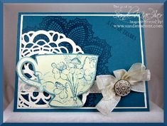 Tea Shoppe - New Catalog Sneak Peek! by SandiMac - Cards and Paper Crafts at Splitcoaststampers