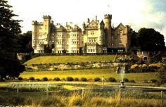 This is the beautiful place I live at in the summer, thanks to my darling Andrew. This is the Skibo Palace in Scotland.