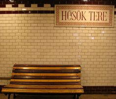 Hero's Square.       Budapest Metro  by Andreea - www.onfoodandwine.com, via Flickr