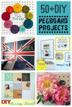 50+ DIY Pegboard Projects @savedbyloves