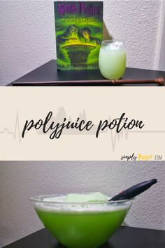 Harry Potter polyjuice potion recipe... perfect for any Harry Potter party!