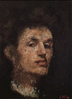 Edvard Munch (1863-1944) - 1886, self-portrait