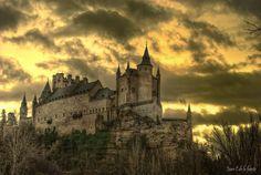 Alcazar de Segovia - Segovia, Spain - Landmark, Historical Place ...