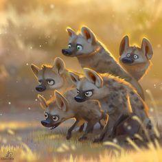 ArtStation - Hyena Gang, Lynn Chen