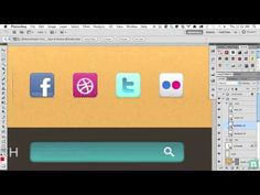 Convert a Warm, Cheerful Web Design to HTML and CSS - Slice the PSD - YouTube