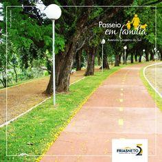 Para quem gosta de praticar atividades físicas, como corrida, caminhada e ciclismo, a Avenida Cruzeiro do Sul é um ótimo lugar, às margens do Rio Piracicaba.