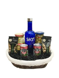 The Bloody Mary Gift Basket Is Available For Same Day Delivery In Las Vegas NV