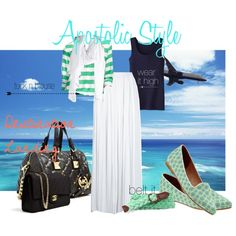 """""""Destination Landing Airport Outfit Apostolic Style"""" by emmyholloway on Polyvore"""