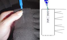 3. slit buttonhole_artbeautyand Sewing, Ideas, Molde, Dressmaking, Couture, Stitching, Thoughts, Full Sew In