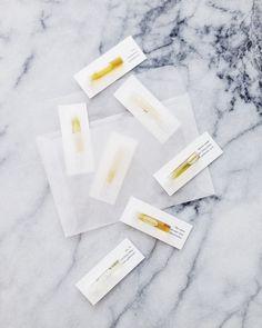 Marble & Milkweed | 7 perfume samples + voucher for full size botanical perfume