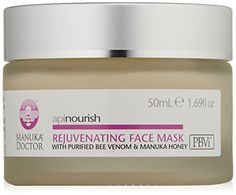 Manuka Doctor Skincare Apinourish Rejuvenating Face Mask 169 fl oz * To view further for this item, visit the image link.