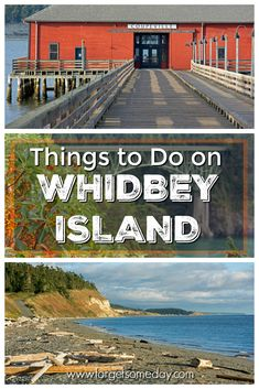 Planning a trip to Whidbey Island, Washington? Check out this detailed guide on things to do on Whidbey Island! Cool Places To Visit, Places To Travel, Places To Go, Washington Things To Do, Washington State, Langley Washington, Whidbey Island Washington, Road Trip Adventure, San Juan Islands