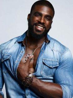 66 Ideas For Fitness Model Photography Men God, Fine Black Men, Hot Black Guys, Gorgeous Black Men, Handsome Black Men, Black Boys, Fine Men, Beautiful Men, Black Man, Mode Masculine