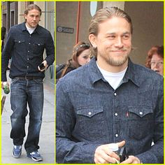 Charlie Hunnam: 'Sons of Anarchy' Adds Drea De Matteo as Series Regular! | Charlie Hunnam : Just Jared