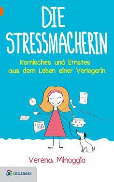 "Demnächst erscheint das Buch ""Die Stressmacherin"" ... Spur, Stress, Books, Products, Husband, Authors, Weird, Book, Studying"