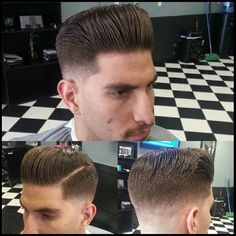 pomp, LOVE Hot Haircuts, 50s Hairstyles, Slick Hairstyles, Rockabilly Updo, Rockabilly Boys, G Hair, Hair Art, Pompadour, Hair And Beard Styles
