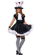 teen girls totally mad mad hatter costume
