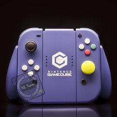 0e326baf90fb Custom Nintendo Gamecube Themed Nintendo Switch Joy-Con JoyCon Controllers  with Comfort Grip