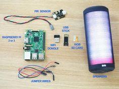 Make a PIR speaker system - Raspberry Pi