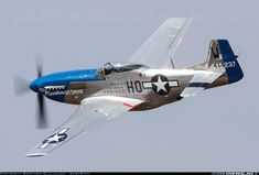 North American P-51D Mustang aircraft picture. Le Luc - Le Cannet (LFMC), France