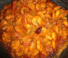 Prawn Curry:  Indian recipe