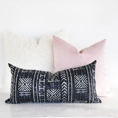 Mali Mud Cloth, Inked Pillow – Tonic Living