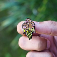 #Repost @thesundayco_  Dugtrio's true identity finally revealed! He's an ice cream   Get yours before he melts! store link in our bio.    #thesundayco #pokemon #pin #pingame #dugtrio #icecream    (Posted by https://bbllowwnn.com/) Tap the photo for purchase info.  Follow @bbllowwnn on Instagram for great pins patches and more!