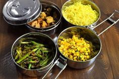 This resto in Montreal serves up Pakistani/Indian street foods and serves in tiffins. We offer a range of authentic stainless steel #tiffins at the shop. https://www.nomadicgrill.com/collections/camping-cookware