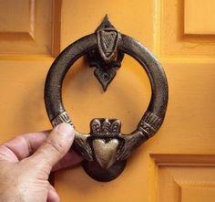 What can we buy, build, or make to commemorate our first home? (door knocker available here: http://www.designtoscano.com/product/code/SP27007.do?code=PDINCLUDE&code=DTPLAS12&gclid=CJ2Ku4OZqsECFbRzMgodxG0A-Q or  http://www.hayneedle.com/product/designtoscanocladdaghirondoorknocker.cfm?redirect=false&source=pla&kwid=CabinetandDoorHardware%20New&tid=TOSC920-1&adtype=pla&kw=&ci_src=17588969&ci_sku=TOSC920-1&gclid=CJiDysiYqsECFYZaMgodbFMAjg) | Offbeat Home
