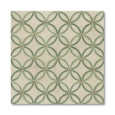 Find it at the Foundary - 4 in. Hand Printed Zen Limestone Tile - Set of 16