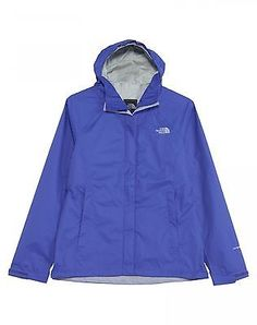 North Face Venture Womens A8AS-BDZ Starry Purple Waterproof Hood Jacket Size 2XL