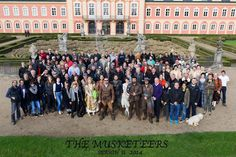 The Musketeers cast and crew of series II <3