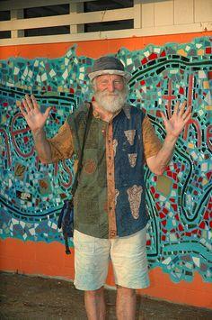 Isaiah Zagar, mosaic artist