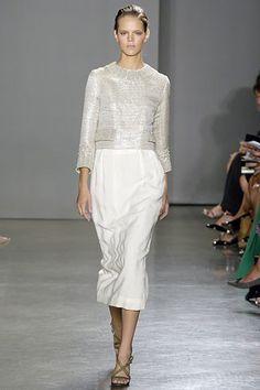 Proenza Schouler Spring 2006 Ready-to-Wear Fashion Show - Anja Rubik