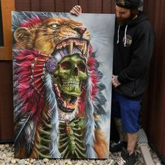 "46 curtidas, 1 comentários - Arte Sem Fronteiras (@artesemfronteiras) no Instagram: ""ArtWork (painting) by Derek Turcotte Instagram : @drkturcotte Facebook : Derek Turcotte  Like :…"""