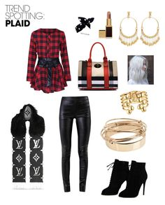 Designer Clothes, Shoes & Bags for Women Helmut Lang, Tom Ford, Valentino, Plaid, Shoe Bag, Polyvore, Stuff To Buy, Shopping, Collection