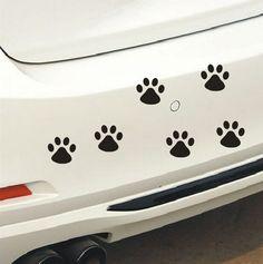 반사 성격 고양이 같은 자동차 스티커 보닛 후드 바디 창 자동차 스타일링 골프 7 스티커 이동식