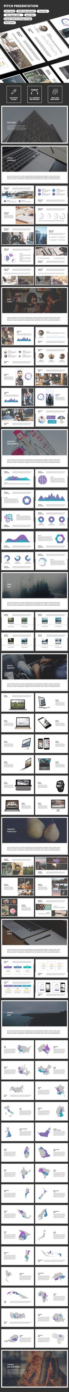 Pitch - PowerPoint Presentation Template