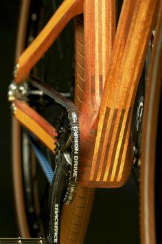 Pecsok.AnalogOne.Wood.front sprocket