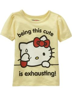 being this cute is exhausting (⌒-⌒; ) #HelloKitty