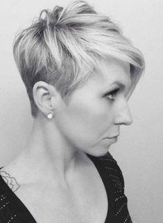 Shaved Asymmetrical Haircuts