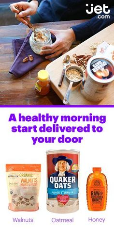 Start the most important meal of the day on a good note. The healthiest breakfast foods out there are the ones that work best for your body, so whether your diet requires gluten free breakfast foods, breakfast foods high in protein, or other healthy foods for breakfast, you'll find them all on Jet.com. With Jet's awesome prices, you'll have a house stocked with healthy breakfast food and great breakfast ideas in no time.