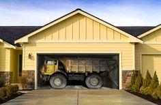Let The Neighbors Figure This One Out Great Garage Door Decals Stuck Truck