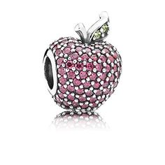 With 144 radiant red and green stones this almost sinfully delicious apple charm will bring a whimsical element to your collection. #PANDORA #PANDORAcharm